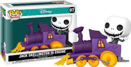 Funko POP! Disney: Trains- Nightmare Before Christmas Jack Skellington in Engine 07 (Jack07)