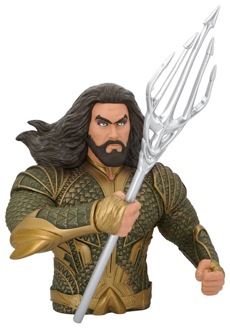 Aquaman PVC Bank with coin stopper