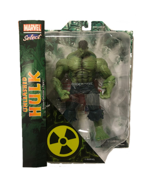 Unleashed Hulk Marvel Select