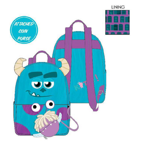 Sully Mini Back Pack from Loungefly