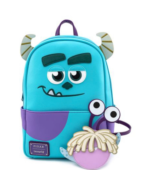 ully Disney-Pixar Monster, INC. Sully Mini-Backpack with Boo