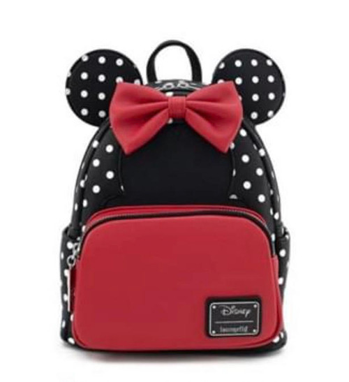 Mini Mouse Loungefly Backpack front