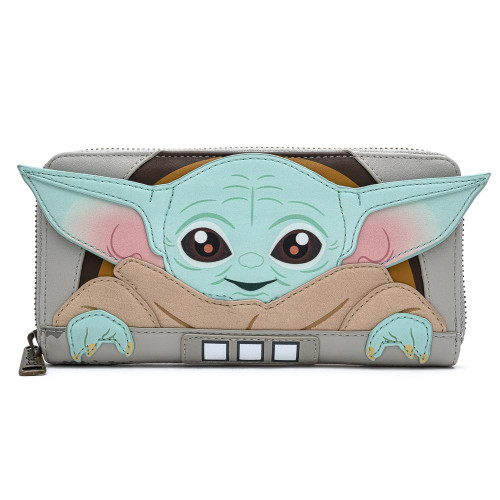 Child Mandalorian Wallet Front