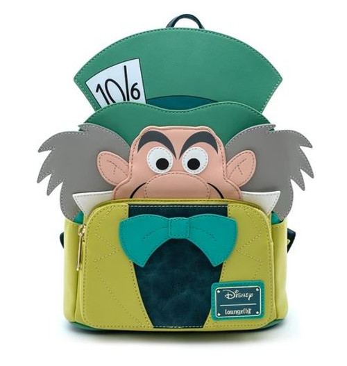 Mad Hatter Mini Loungefly  Backpack
