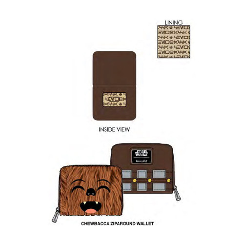 Chewbacca Ziparound Wallet