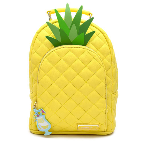 Loungefly Pool Party Pineapple Mini Backpack front