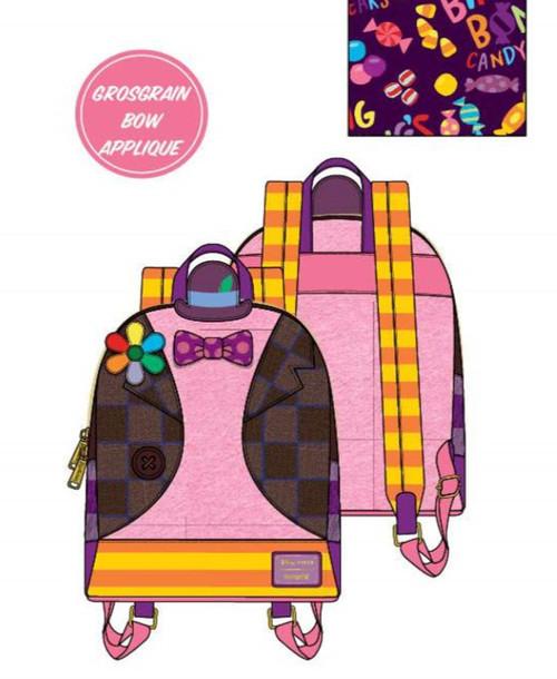 Pixar Inside Out Bing Bong Cosplay Mini Backpack