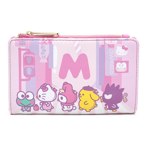 HELLO KITTY KAWAII AOP FLAP WALLET Front