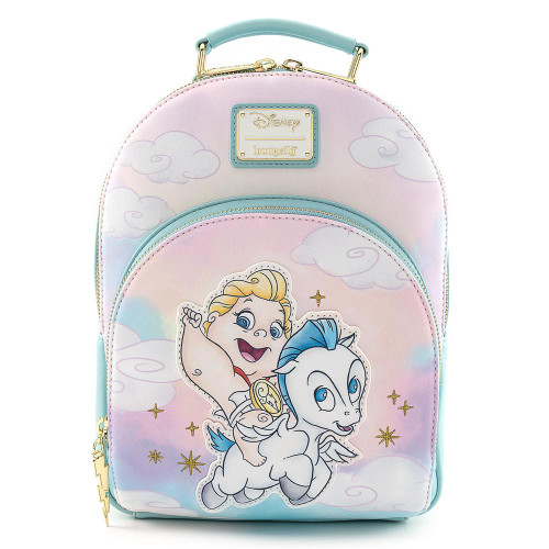 LF DISNEY HERCULES BABY HERC AND PEGASUS MINI BACKPACK FRONT