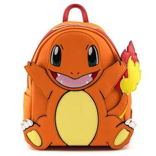 LF POKEMON CHARMANDER COSPLAY MINI BACKPACK SIDE FRONT