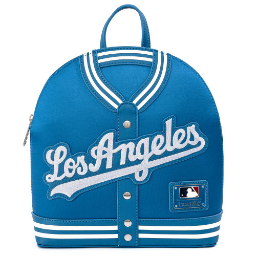 LF MLB DODGERS CHENILLE LOGO JACKET MINI BACKPACK FRONT