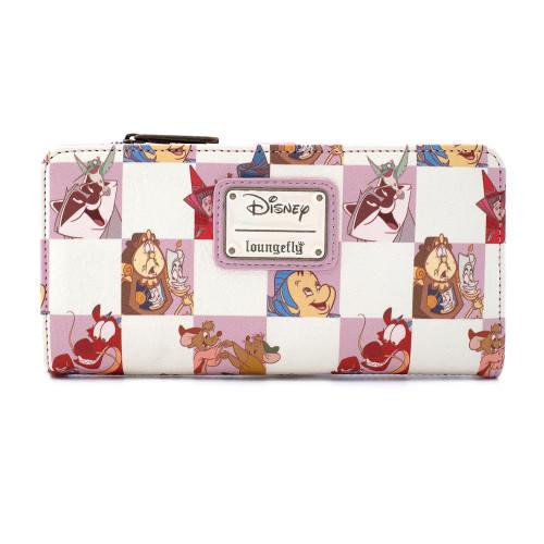 Loungefly X Disney Princess Sidekicks AOPFLAP WALLET BACK