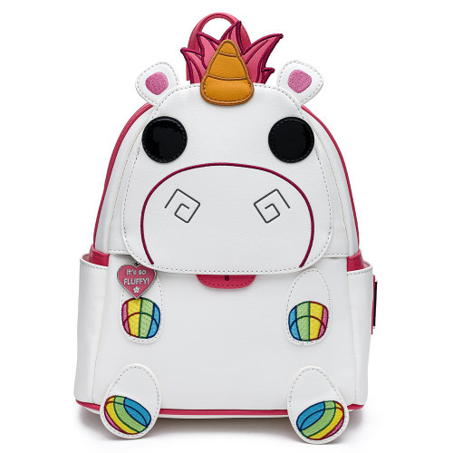 POP BY LF MINIONS FLUFFY UNICORN MINI BACKPACK