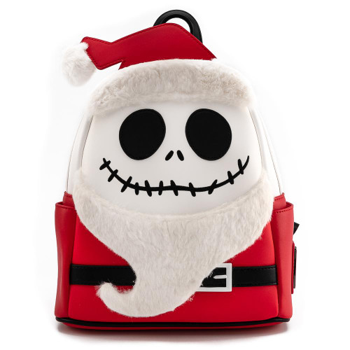 LF Disney NBC Christmas Jack Cosplay Mini Backpack  Front