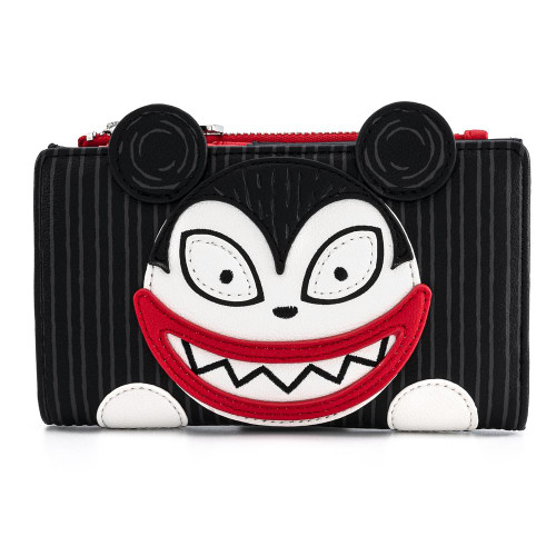LF Disney NBC Scary Teddy and Undead Duck Bi-fold Wallet Front