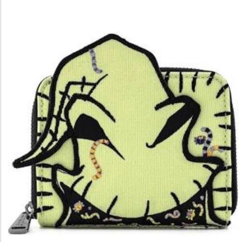 LF Disney NBC Oogie Boogie Creepy Crawlies Zip Around Wallet