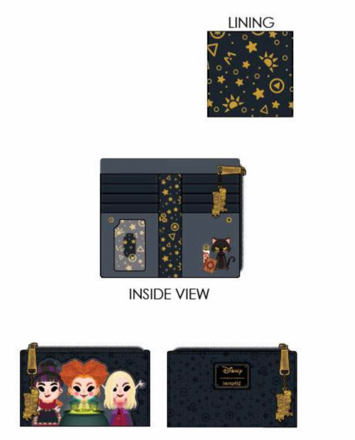 LF Disney Hocus Pocus Chibi Bi-Fold Wallet(backorder till Oct/Nov)