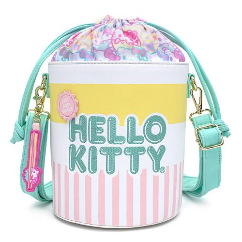 Sanrio Hello Kitty Cup O' Kitty Crossbody Purse front