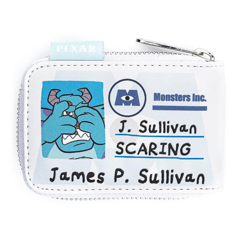 Disney-Pixar Monsters, Inc. Mike and Sully Accordion Cardholder Front