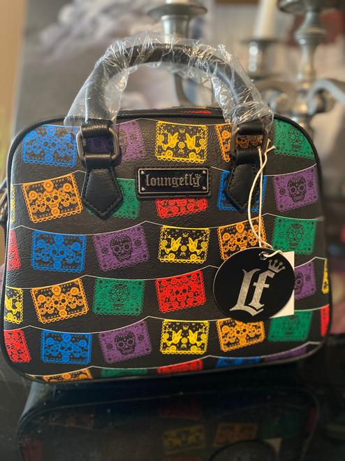 Loungefly Dia De Las Banderas Crossbody Bag
