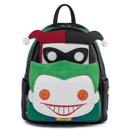 POP By LF DC Comics Harley and Joker Mini Backpack