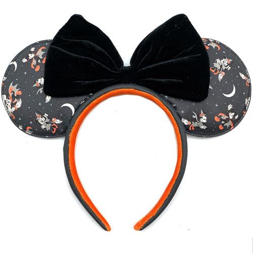 LF Disney Mickey Minnie Halloween Vamp Witch AOP Headband