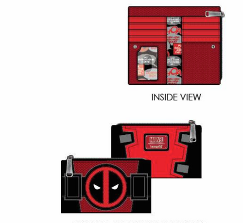 LF Marvel Deadpool Merc With A Mouth Wallet