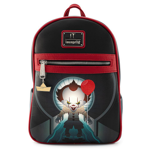 LF IT Pennywise Sewer Scene Backpack Faux Leather