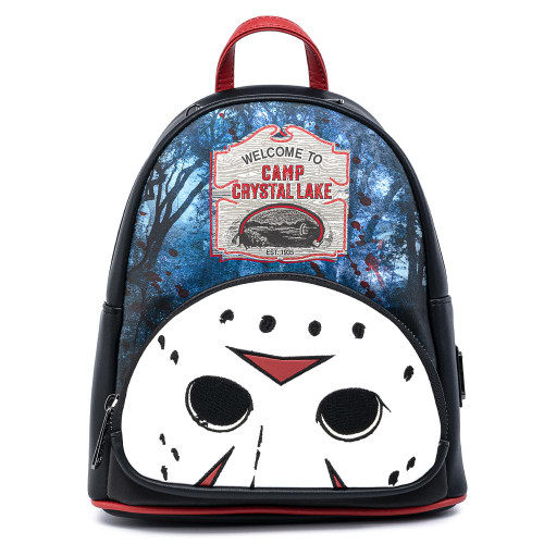 LF Friday The 13th Camp Crystal Lake Mini Backpack Front