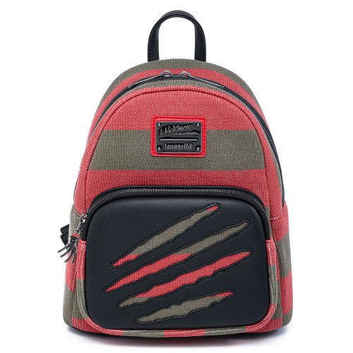 LF Nightmare On Elm Street Freddy Sweater Mini Backpack Front
