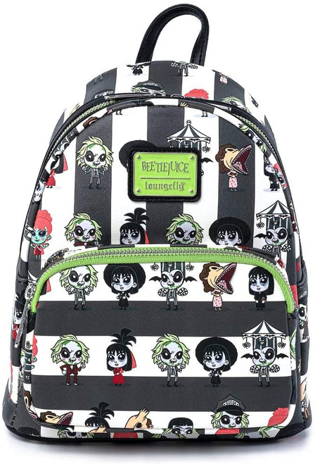 LF Beetlejuice Group Chibi AOP Mini Backpack Front