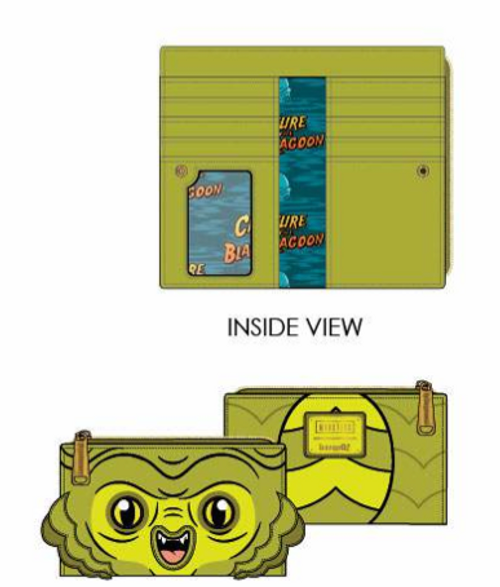 LF Universal Monsters Creature from the Blue Lagoon Wallet