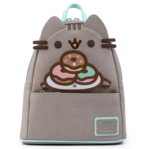 LF Pusheen Plate O Donuts Cosplay Mini Backpack Front