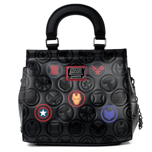 LF MARVEL ICONS CHAIN STRAP CROSSBODY BAG  FRONT