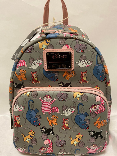LF DISNEY CATS AOP MINI BACKPACK