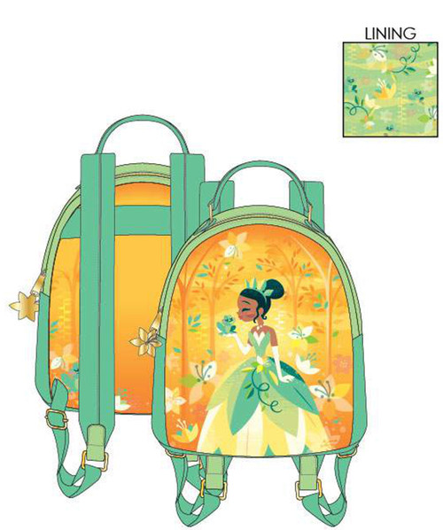LF DISNEY PRINCESS AND THE FROG TIANA MINI BACKPACK