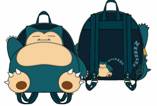 F POKEMON SNORLAX COSPLAY MINI BACKPACK