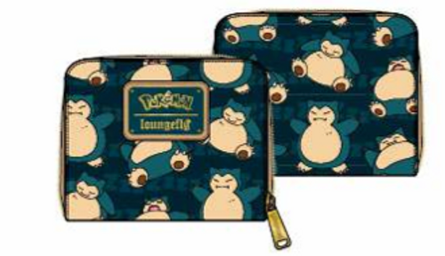 F POKEMON SNORLAX ZIP AROUND WALLET