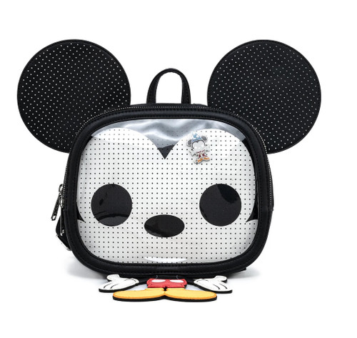 POP BY LF DISNEY MICKEY PIN COLLECTOR BACKPACK FRONT