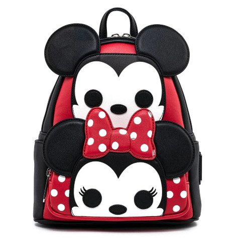POP BY LF DISNEY MICKEY AND MINNIE COSPLAY MINI BACKPACK FRONT