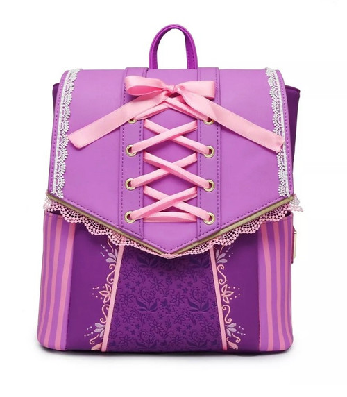 RAPUNZEL DRESS COSPLAY BACKPACK  FRONT