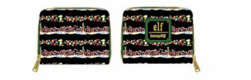 ELF CANDY CANE FOREST WALLET