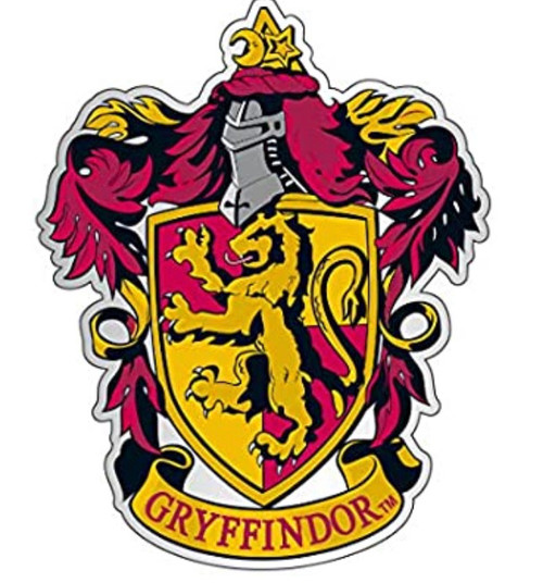 Harry Potter Gryffindor Enamel Pin