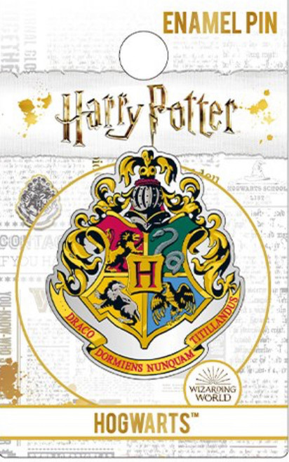 Harry Potter Hogwarts Enamel Crest Pin