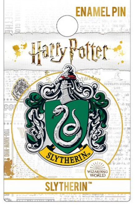 Harry Potter Slytherin Creast Enamel Pin
