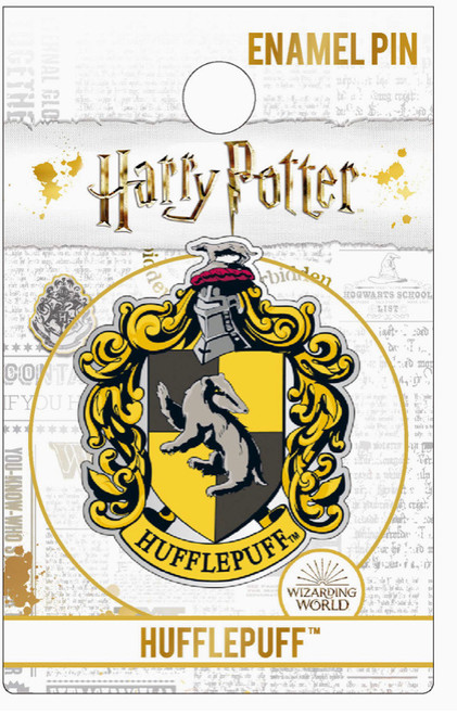 Harry Potter Hufflepuff Crest Pins