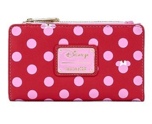 LF DISNEY MINNIE MOUSE PINK POLKA DOT WALLET