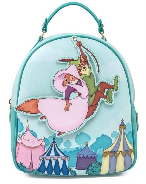 LF Disney Robin Hood Robin Rescues Maid Marian Mini Backpack