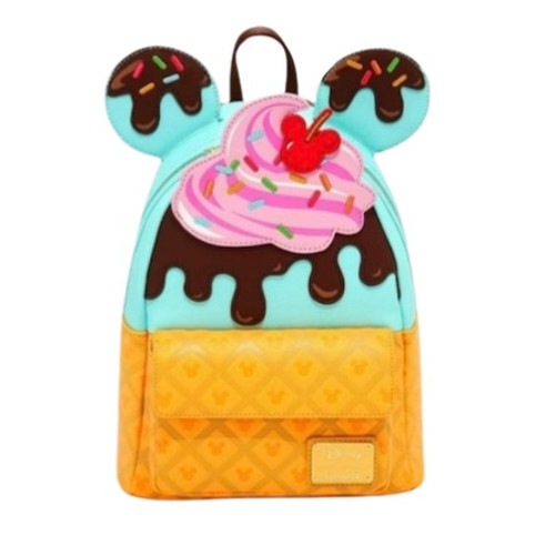 LF DISNEY MICKEY AND MINNIE SWEETS ICE CREAM MINI BACKPACK