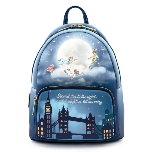 LF DISNEY PETER PAN STAR GLOW MINI BACKPACK COMING FEB/MARCH